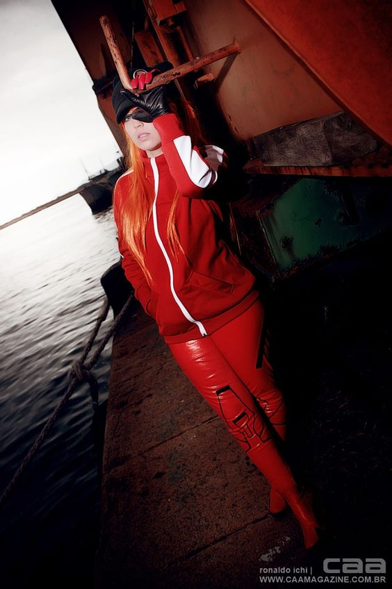 Asuka Langley   NGE cosplayer JuTsukino   photo by CAA / ronaldo ichi & valesca braga - www.caamagazine.com.br