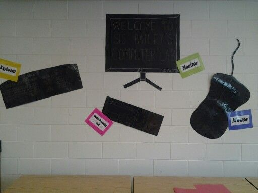 Computer Lab Decoration For Primary School : Computer lab decor by judy k education pinterest