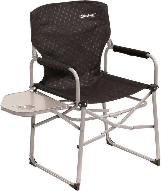 CAMPZ Deluxe Arm Chair schwarz 2019 Campingstuhl