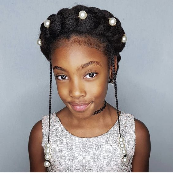 Halo Braids For Your Natural Hair Short Natural Hair Styles Natural Hair Styles Hair Styles