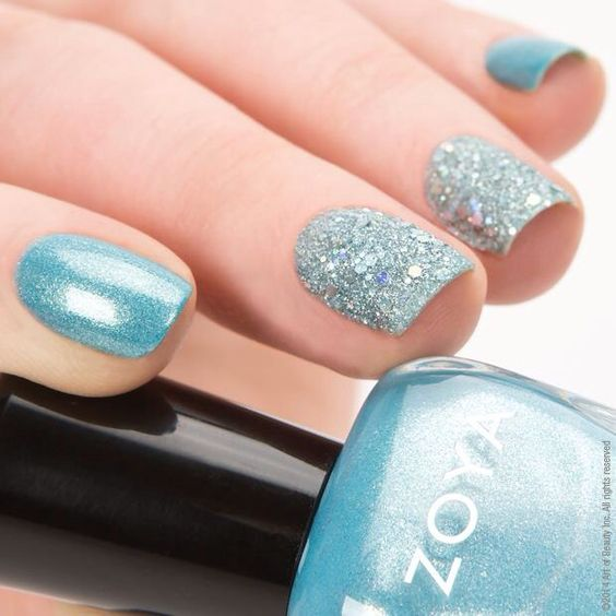 zoya rebel amp cosmo magical pixie dust spring nail