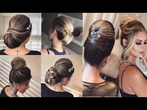 how to do a perfect bridal bun hair hairstyle tutorial video