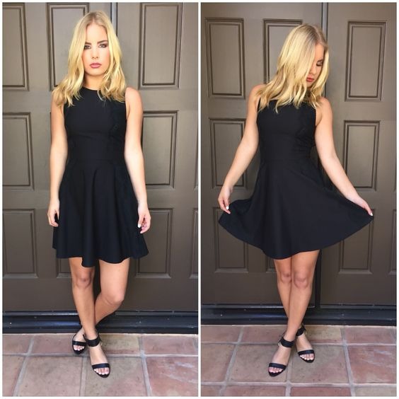 Some Flair Little Black Dress from Dainty Hooligan