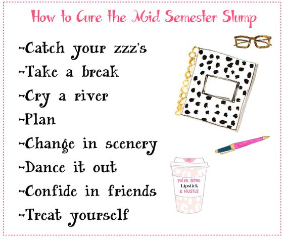 The Sweet and Chic Prep: The Mid Semester Slump