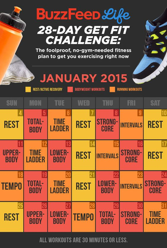 take buzzfeeds get fit challenge then take over the world 30 day workouts 28 days and over the