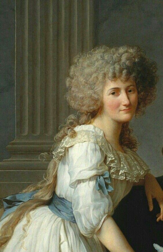 Portrait of Antoine-Laurent and Marie-Anne Lavoisier. (Monsieur ...