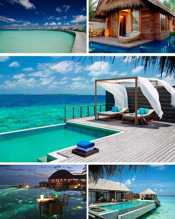 Maldives, Honeymoon Destinations And Honeymoons On Pinterest