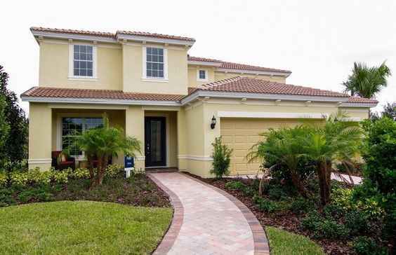 New Homes In Tampa By Pulte Homes New Home Builders Paint Color Landscaping Florida Homes