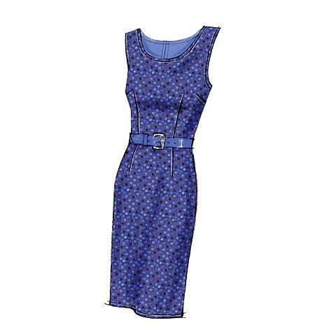 V8766 | Misses'/Misses' Petite Dress | View All | Vogue Patterns - via http://bit.ly/epinner