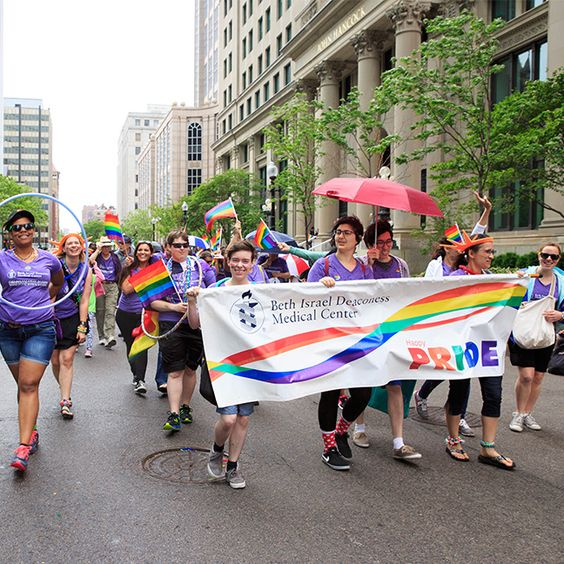 Thanks to our Pride Parade team for braving the elements on Saturday! #SolidarityThroughPride