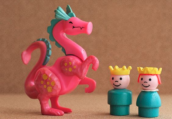 Dragons, however, look charming in a shade of peony pink.