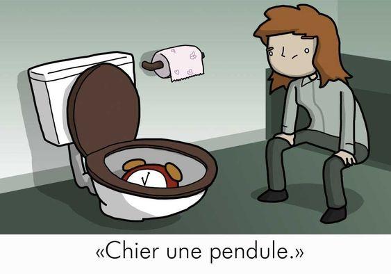 Cet illustrateur a dessiné des expressions françaises, et c'est très drôle!