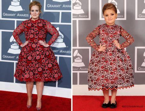 Las FAMOSAS de los Grammy si fueran niñas ¡IGUALITAS!, Noticias, chismes, chismes de famosos, noticias de celebridades, cotilleo, Gossip, News, Famosos, Estrellas