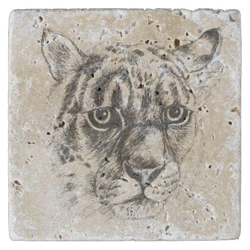 leopard stone coaster stone coaster