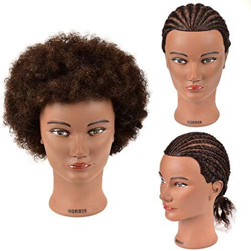 Afro Mannequin Head 100 Human Hair Training Hair Head Hairdresser Training Manikin Cosmetology Doll Head A In 2020 Hair Mannequin 100 Human Hair Hairdressing Training