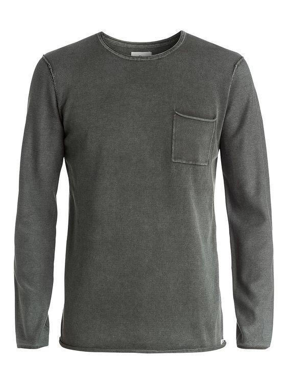 Astley - Quiksilver Sweater für Männer  Astley Sweater von Quiksilver. Die Eigenschaften dieses Produkts sind: Brusttasche, Rollback Nähte und Vintage Acid Wash. Dieses Produkt besteht aus: 100% Baumwolle.  Merkmale:  Sweater, Brusttasche, Rollback Nähte, Vintage Acid Wash, Extra weiches Tragegefühl,  Dieses Produkt besteht aus:  100% Baumwolle,  ...