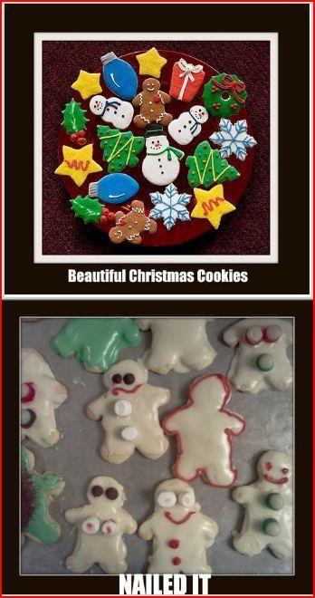 My failed Pinterest cookies
