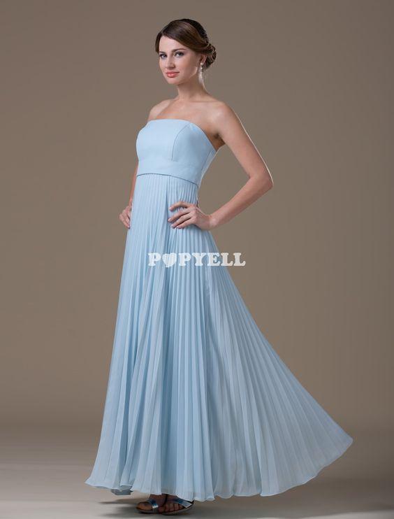 #robe #demoisellehonneur Abricot Gray A-ligne bretelles en mousseline de soie-parole longueur robe de demoiselle d'honneur de la femme de la maternité
