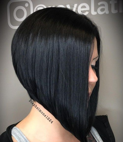 Best Two Bob Hairstyles Short Back Long Front Stacked Haircuts Bob Hairstyles Hair Styles