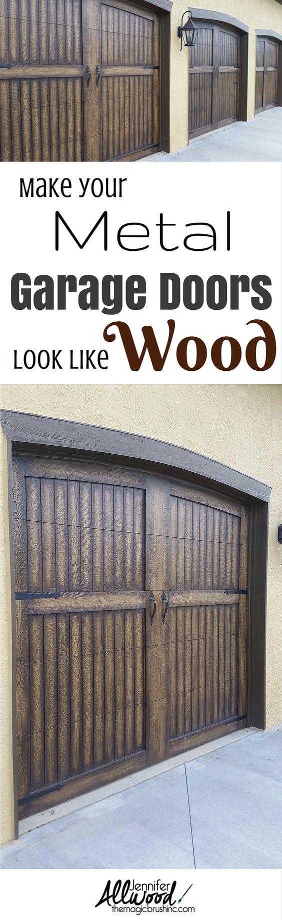 Garage Doors Metal Garages And Curb Appeal On Pinterest