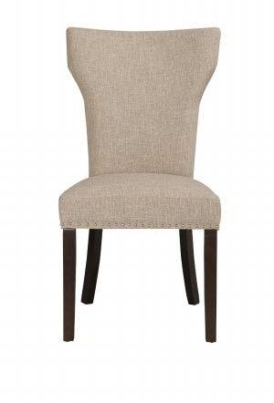 Boraam 82518 Monaco Parson Dining Chair, set of 2, Oatmeal