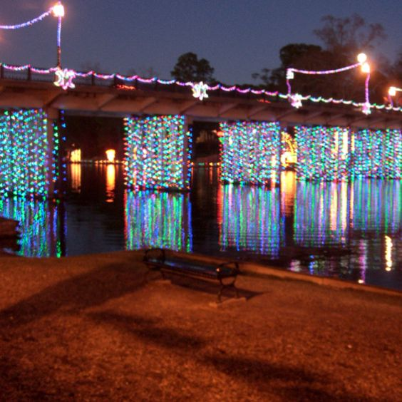 Natchitoches Christmas Lights: