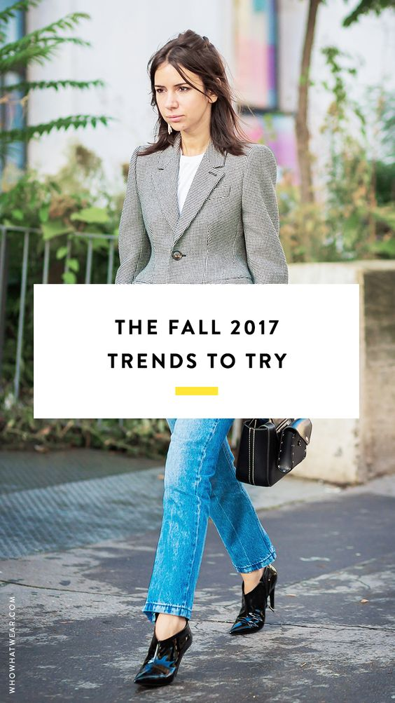 The best fall 2017 trends.