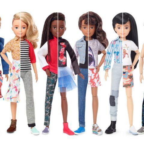 Mattel Unveils Creatable World Gender Neutral Doll Line Gender Neutral Toys Mattel Barbie