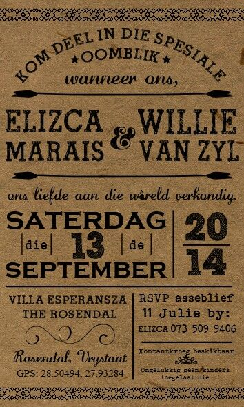Wooden Wedding Invite as adorable invitations sample
