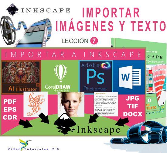 Curso de Inkscape 7/10 Importar texto e imágenes