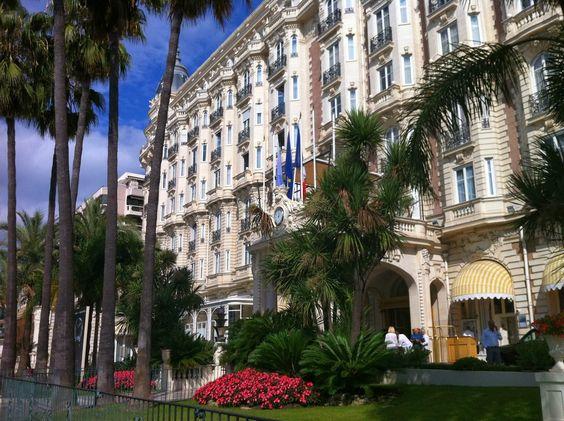 Carlton Hotel,  Canne,  France