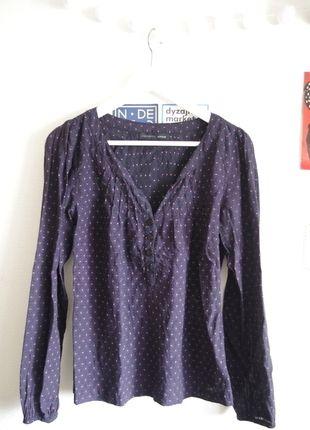 À vendre sur #vintedfrance ! http://www.vinted.fr/mode-femmes/blouses-and-chemises/23654286-chemisier-violet-imprime-vero-moda