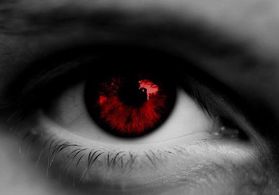 Image Result For عين حمراء Blue Eye Makeup Tutorial Eye Painting Blue Eye Makeup