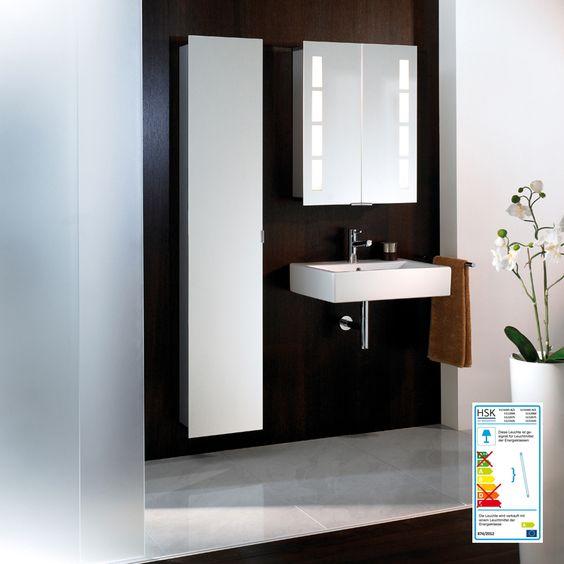 HSK - Die Badexperten | Alu-Spiegelschränke | ASP 500