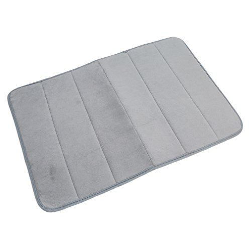 Dolland Memory Foam Bath Mat Bath Mat Non Slip Super Cozy