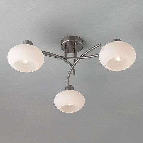Samantha Linen Flush Ceiling Light | Lighting, Lamp bulb and Living rooms