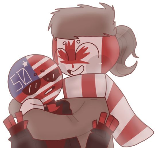 Picture Comic S And Videos Countryballs Humans Country Art America And Canada Human
