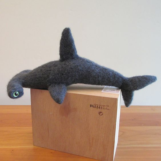 Ravelry: Felted Hammerhead Shark pattern by Frances Gillespie