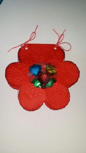 Caixa flor porta doces
