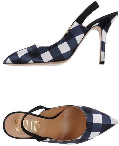 Pin for Later: 50 coole Schuhe für euer Dirndl, die ihr auch nach dem Oktoberfest noch gerne tragen werdet  Never Ever Slingback-Pumps mit Karo-Muster (117 €)