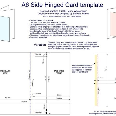 Easel Card Stickers Photo By D0npen Swing Card Side Step Card Card Templates