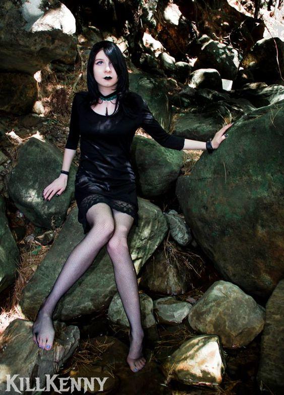 Choker: Gothic Choker Designs Model: Tayla Pringle Photography: Killkenny Photography