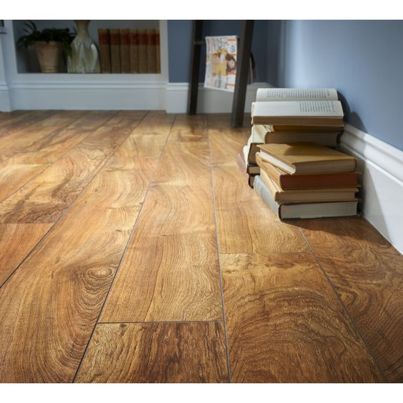 Style selections w x l brazilian teak for Teak laminate flooring