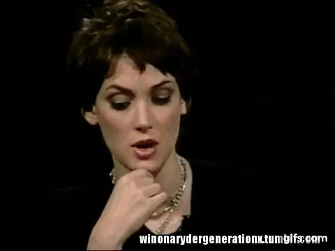 """Winona Ryder interview on """"Girl Interrupted"""" on Charlie Rose (2000)"""