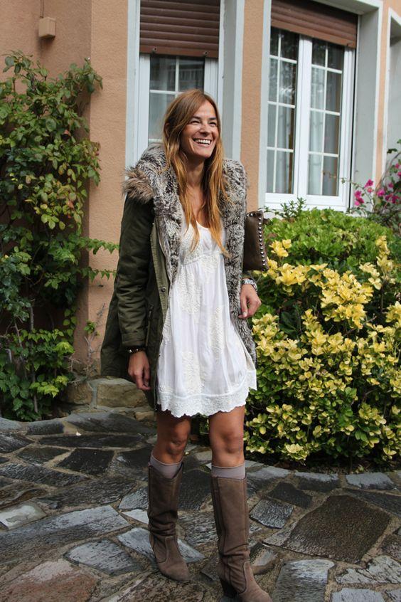 ¡¡ Es cuestión de Estilo !!! - Fashion Blog: Parka Verde Militar ...