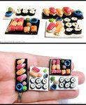 Sushi Plates by *Bon-AppetEats on deviantART