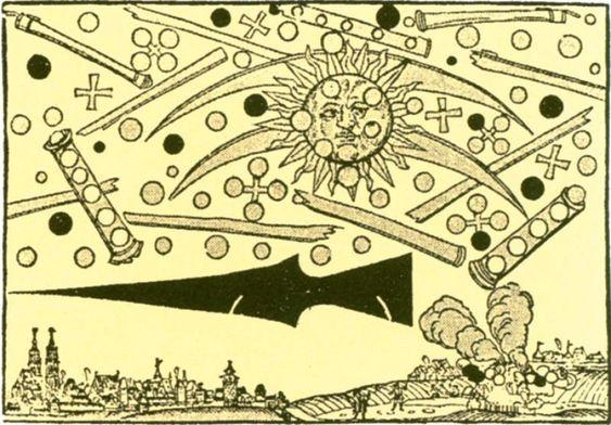 Veel mensen denken dat het UFO-fenomeen of de gebeurtenissen die ermee verband houden pas recent zijn, maar er is een gebeurtenis die teruggaat tot de UFO-slag om Neurenberg in 1561.Afgezien van de theorieën die gebaseerd zijn op tijden van oude beschavingen zoals de Sumeriërs, die hebben geschriften en tekeningen achtergelaten waar kan worden geverifieerd dat ze de aanwezigheid hadden van wezens, vliegende objecten en gebeurtenissen die geen verklaring hadden.Er is een gedocumenteerd nieuwsb