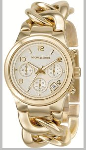 Michael Kors, expensive for a watch but I can dream
