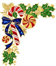 Marcos y bordes: Esquineros para Navidad