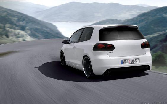 VW Golf VI GTI by Benjamin-Dandic.deviantart.com on @DeviantArt